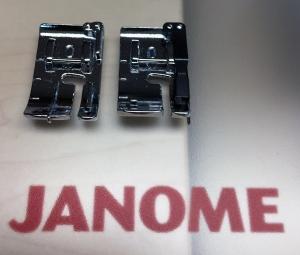 Janome O feet comparison