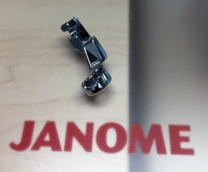 Janome QR foot off machine