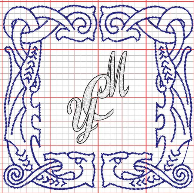 auto generated monogram