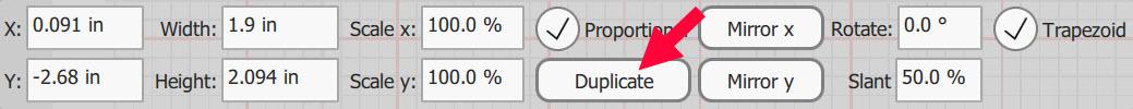 trapezoid properties box