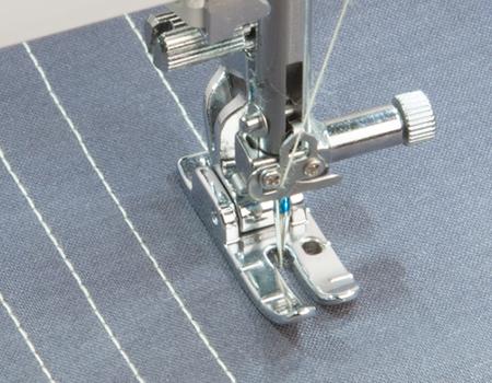 Janome MC9400 HP foot stitching