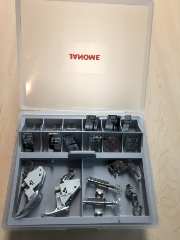Janome MC9450 accessories - 1