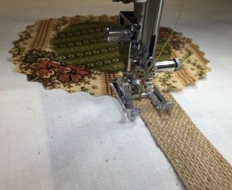 Stitching on stems - 1