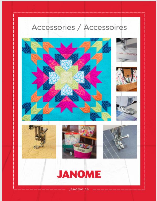 Janome Accessories Guide