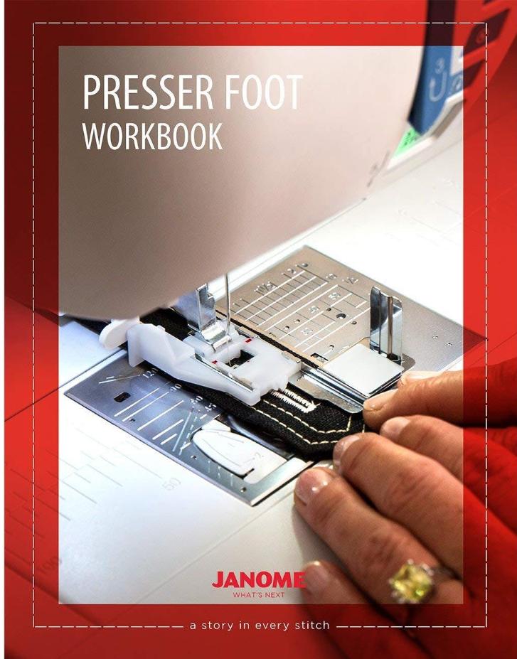 Janome Presser Foot Workbook