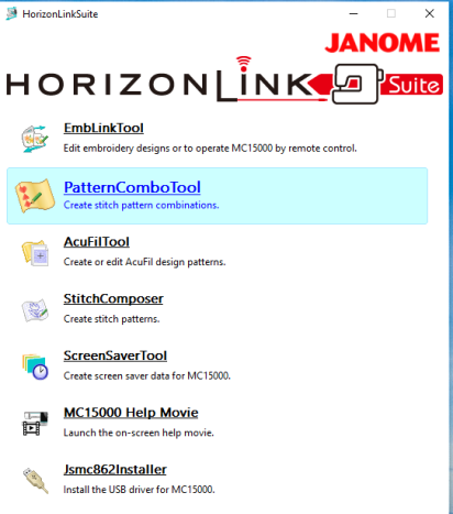 Horison link suite ebit combo
