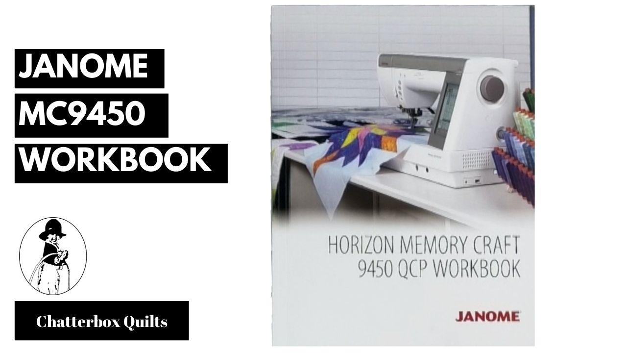 Janome 9450 Workbook