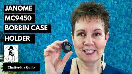 YT Thumbnail Janome 9450 insert bobbin case
