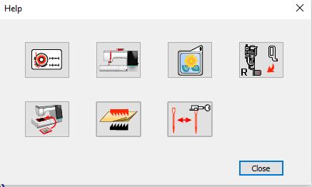 MC15000 Help Movie Icons
