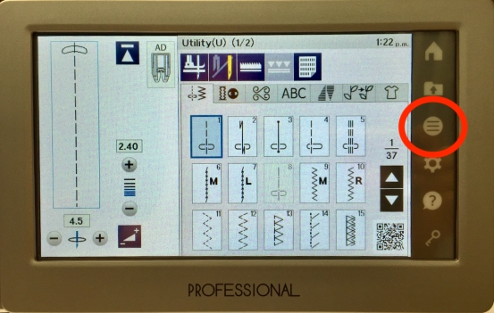 Janome M7 display screen - 1 (1)