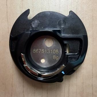 Janome M7 Blue Dot Bobbin Case Holder - 1