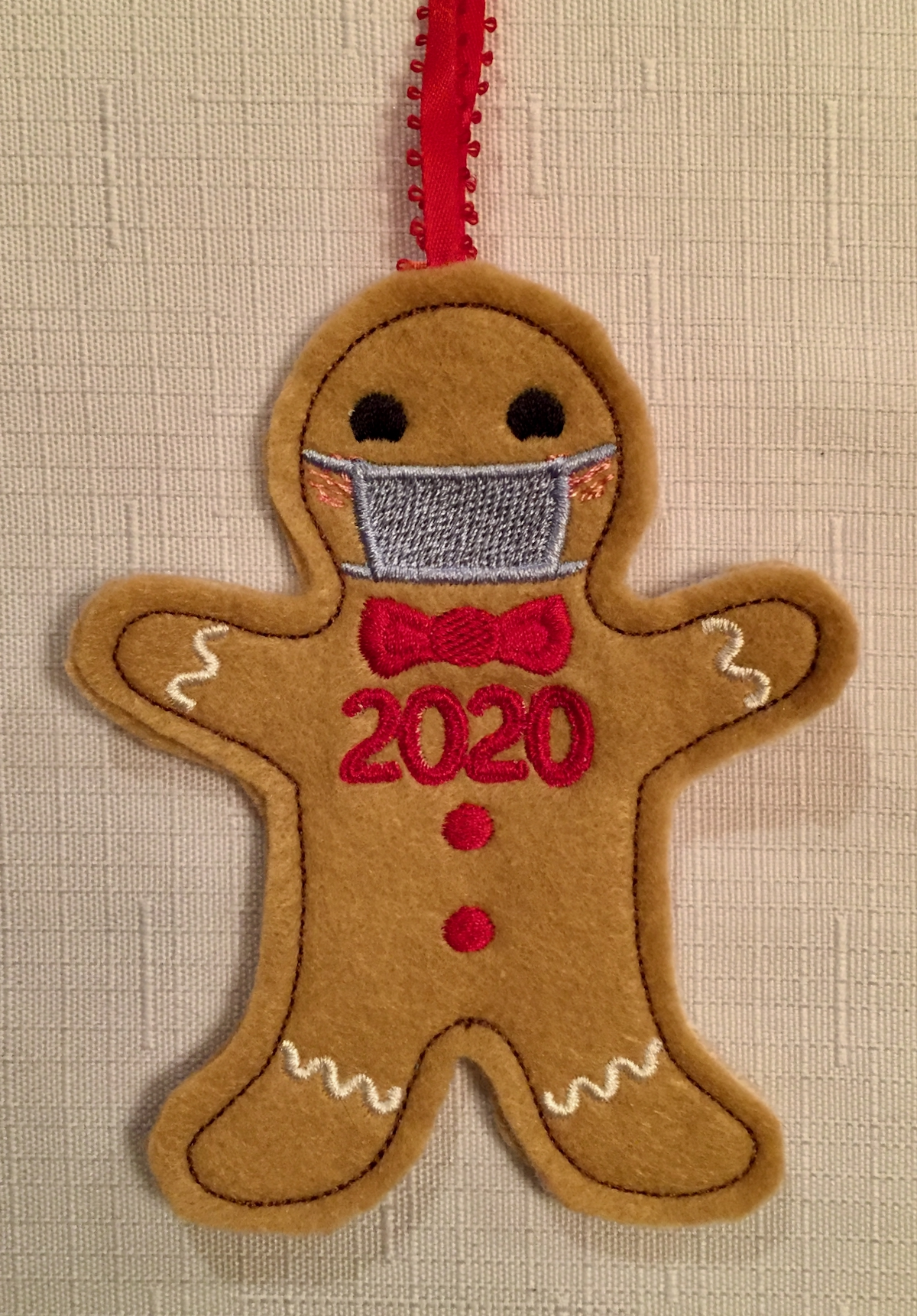 2020 gingerbread man - 1
