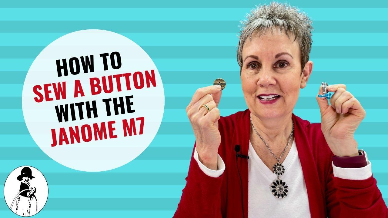 YT Thumbnail Janome M7 Button